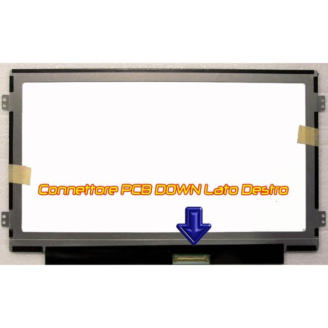 10.1 b101aw06 m101nwt4 wsvga display led glossy slim  lif ds101g02 au optronics 35114 1/1