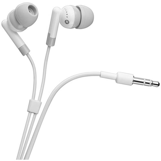 auricolari ipod iphone bianchi jack 3,5 mm 1,2 mt CE bianco wnt 42147 goobay wnt 42147