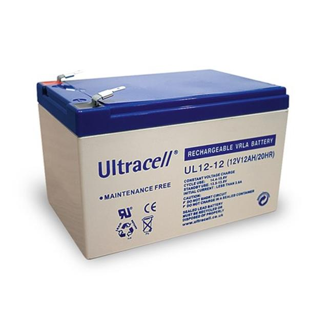 batteria al piombo ultracell 12 volt 12Ah CE wnt 78248 ultracell wnt 78248