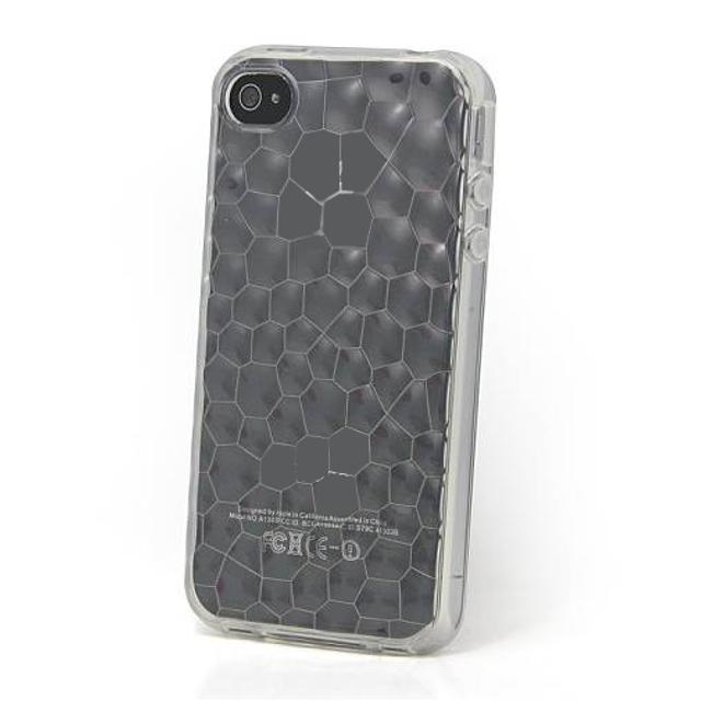 black jelly silicone case for iphone 4/4s trasparente lif coph435k myphone lif coph435k