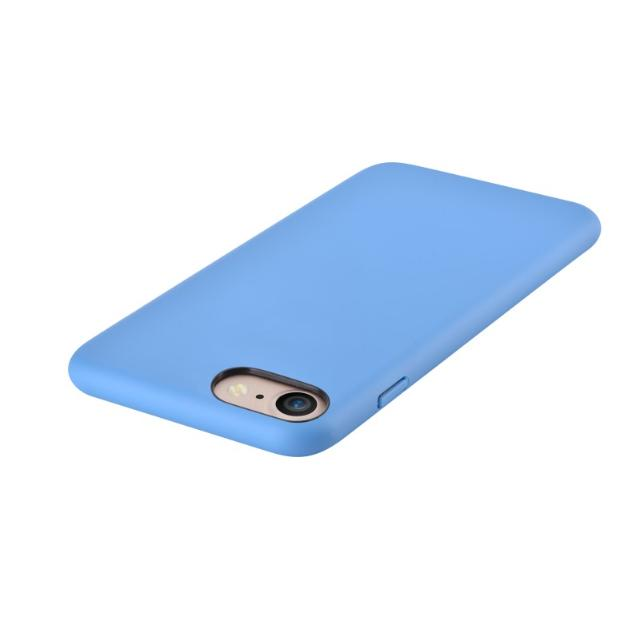 cover c.e.o 2 in microfibra per iphone 7 e 8 plus blu lif dec27358a devia lif dec27358a