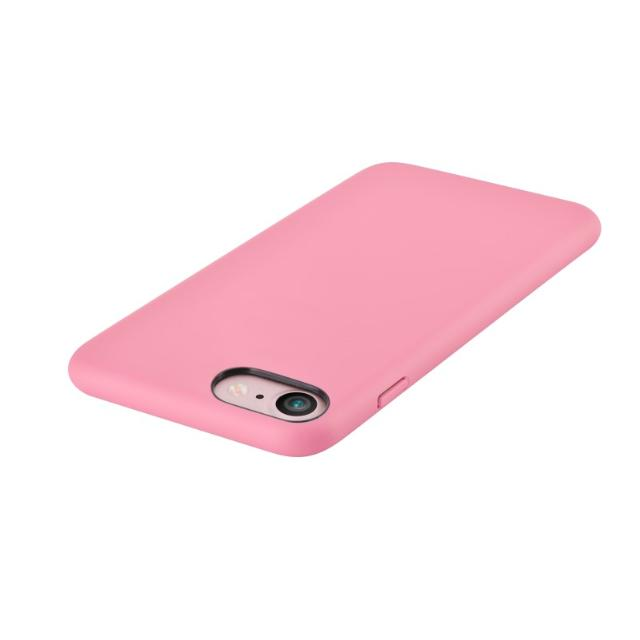 cover c.e.o 2 in microfibra per iphone 7 e 8 plus rosa lif dec27372p devia lif dec27372p