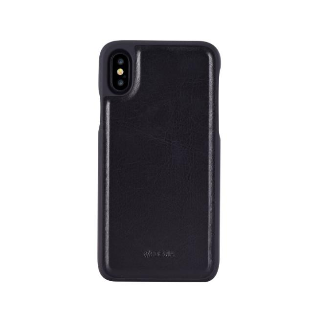 cover in pelle con porta documenti magic per iphone x nero lif demipx399b devia 36995 3/4