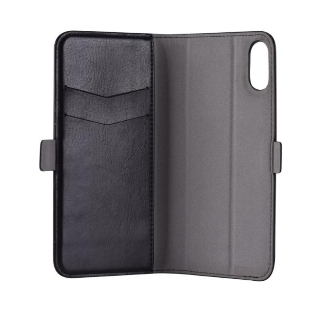 cover in pelle con porta documenti magic per iphone x nero lif demipx399b devia 36995 4/4