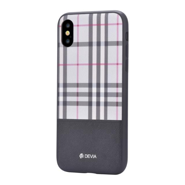cover in pelle lattice devia per iphone x nero lif delci8757b devia lif delci8757b