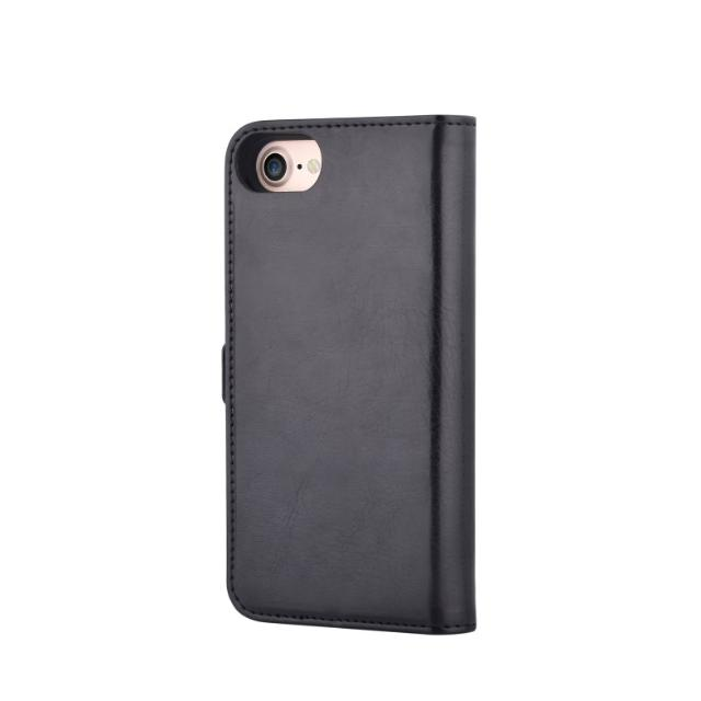 cover in pelle porta documenti magic per iphone 7 plus nero lif demli7p174b devia lif demli7p174b