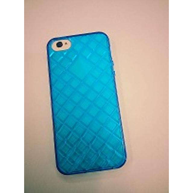 cover in silicone iphone 5 motivo tridimensionale blu lif coph503b myphone lif coph503b