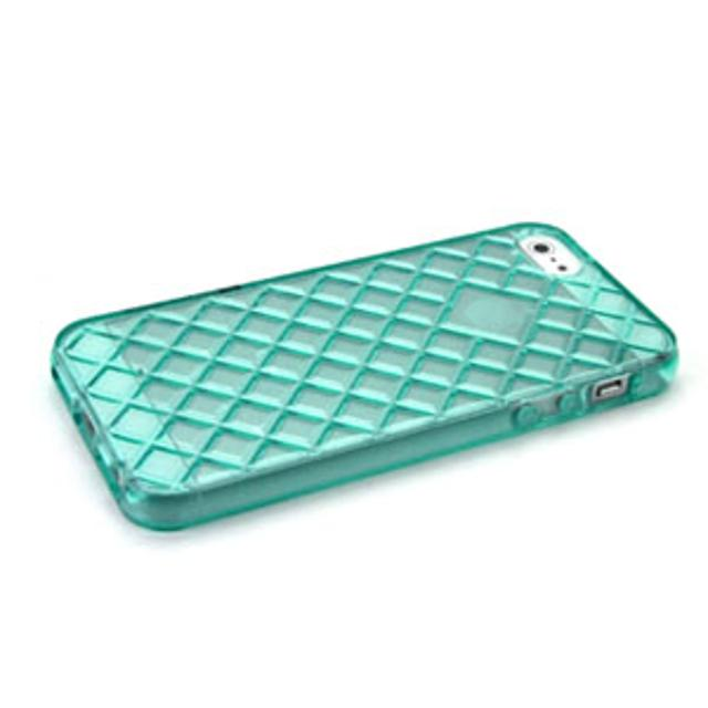cover in silicone iphone 5 motivo tridimensionale verde lif coph503y myphone lif coph503y