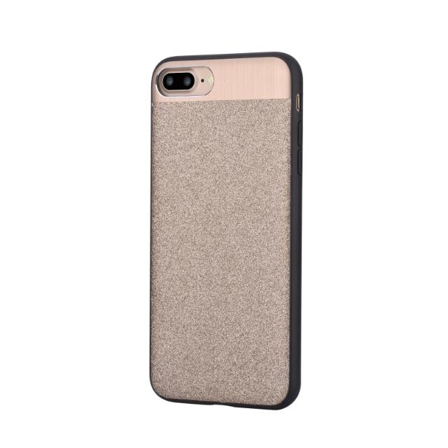 cover racy glitterate per iphone 7 plus oro lif derc7p027g devia lif derc7p027g