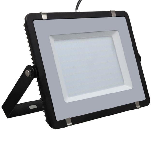 faro led chip samsung 200 watt 220-240 volt CE IP65 bianco naturale nero no tec 629157 v-tac tec 629157