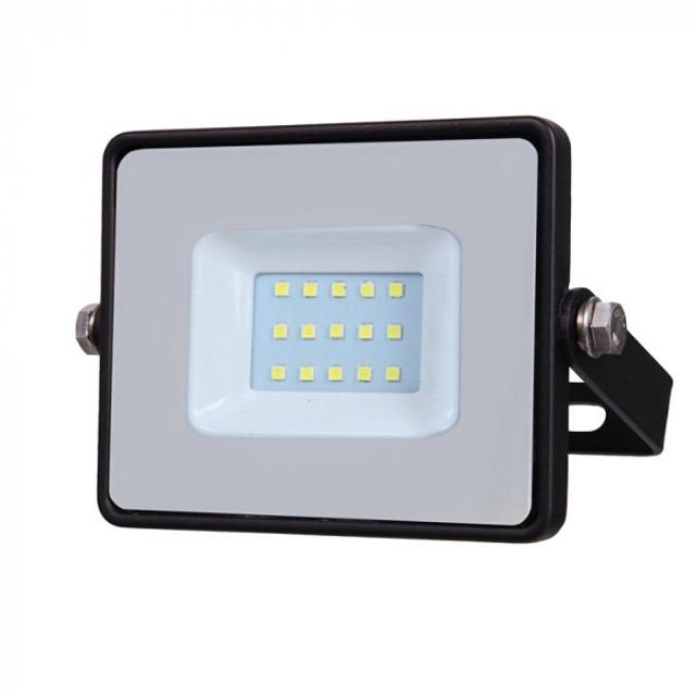 faro led chip samsung 10 watt 220-240 volt CE IP65 bianco naturale nero no tec 630818 v-tac tec 630818