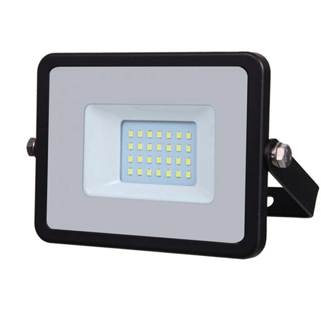faro led chip samsung 20 watt 220-240 volt CE IP65 bianco caldo nero no tec 630955 v-tac tec 630955