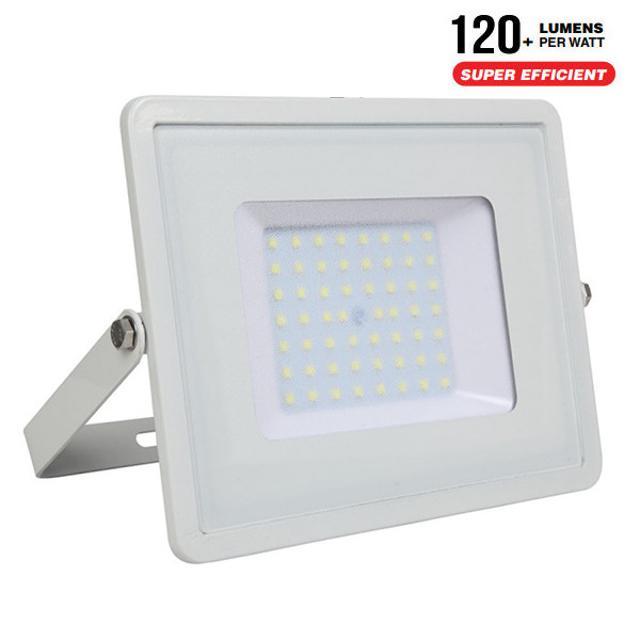 faro led chip samsung ultrà luminoso 110° 220-240 volt 50 watt A++ CE IP65 bianco bianco freddo no tec 646284 v-tac tec 646284
