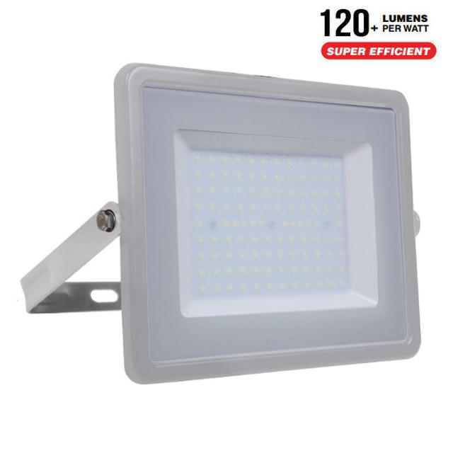 faro led chip samsung ultrà luminoso 100 watt 110° 220-240 volt A++ CE IP65 bianco naturale grigio no tec 646352 v-tac tec 646352