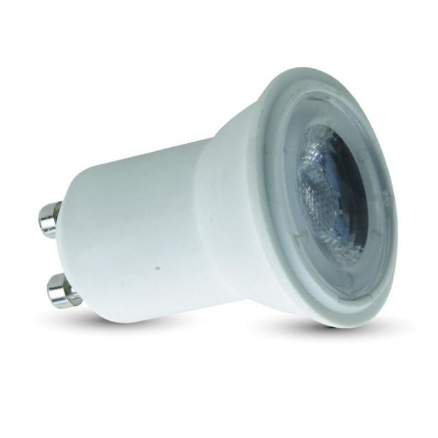 lampadina led 35 mm chip samsung 2 watt 220-240 volt 38° A+ CE GU10 bianco naturale no tec 640770 v-tac tec 640770