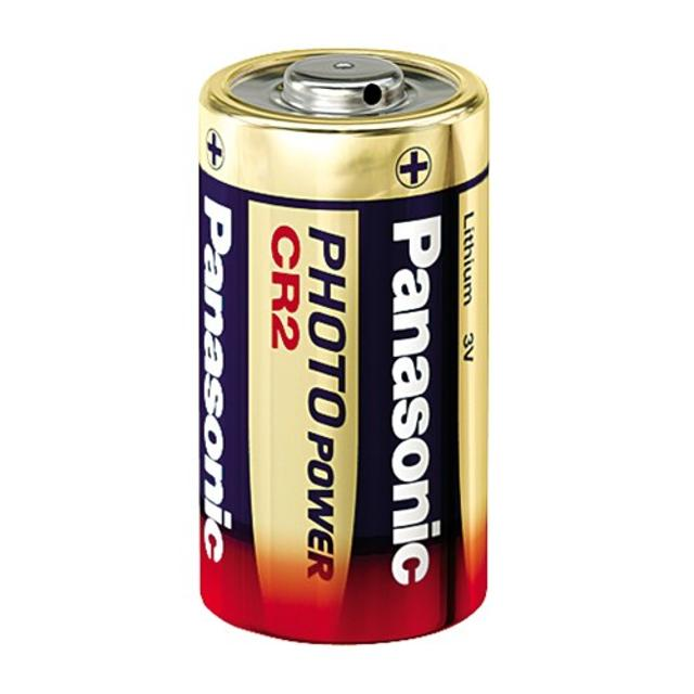 pila batteria al litio 3 volt cr2 850 mah per fotocamere  wnt 23074 panasonic wnt 23074