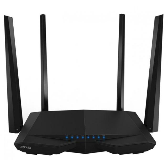 router wireless 1200mbps dual band tenda ac6  lif ntac6 tenda lif ntac6