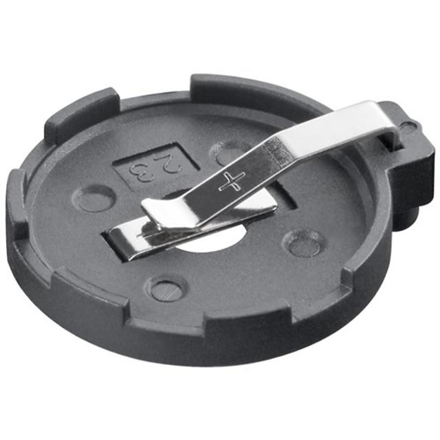 supporto per batterie a bottone 23 mm circuito stampato  wnt 23310 goobay 6147 1/2