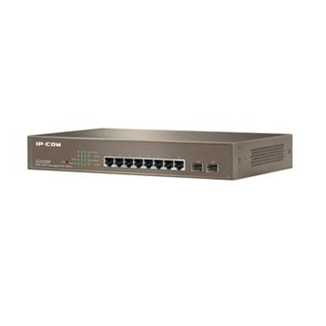 switch ip-com g3210p 8 porte gigabit+2*sfp managed poe  lif icg3210p ip-com lif icg3210p