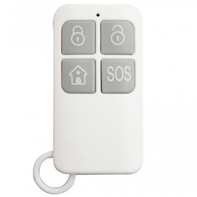 telecomando per sistema antifurto wireless 868mhz hdrc01 bianco ici 40264 home defender 4612 1/3