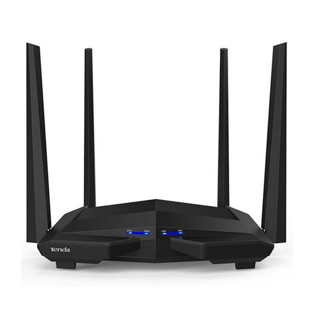 tenda ac10 smart dual-band gigabit ac1200 wifi router  lif ntac10 tenda lif ntac10