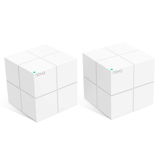 tenda nova mw6 wireless ac1200 dual band repeater mesh 2 pz  lif ntnovamw62 tenda 35364 1/3